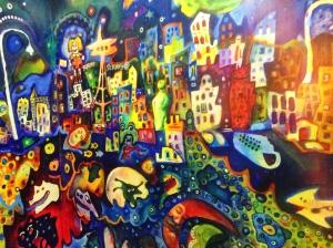 Graffiti at Pike Place, Seattle